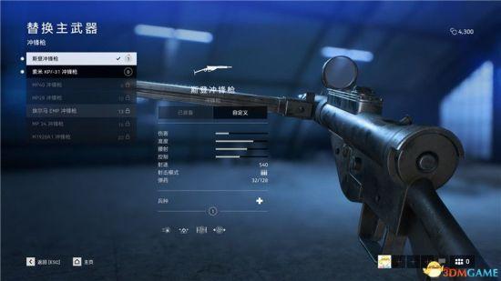 《战地5》全微型冲锋枪具体介绍