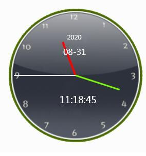 复古表盘时钟