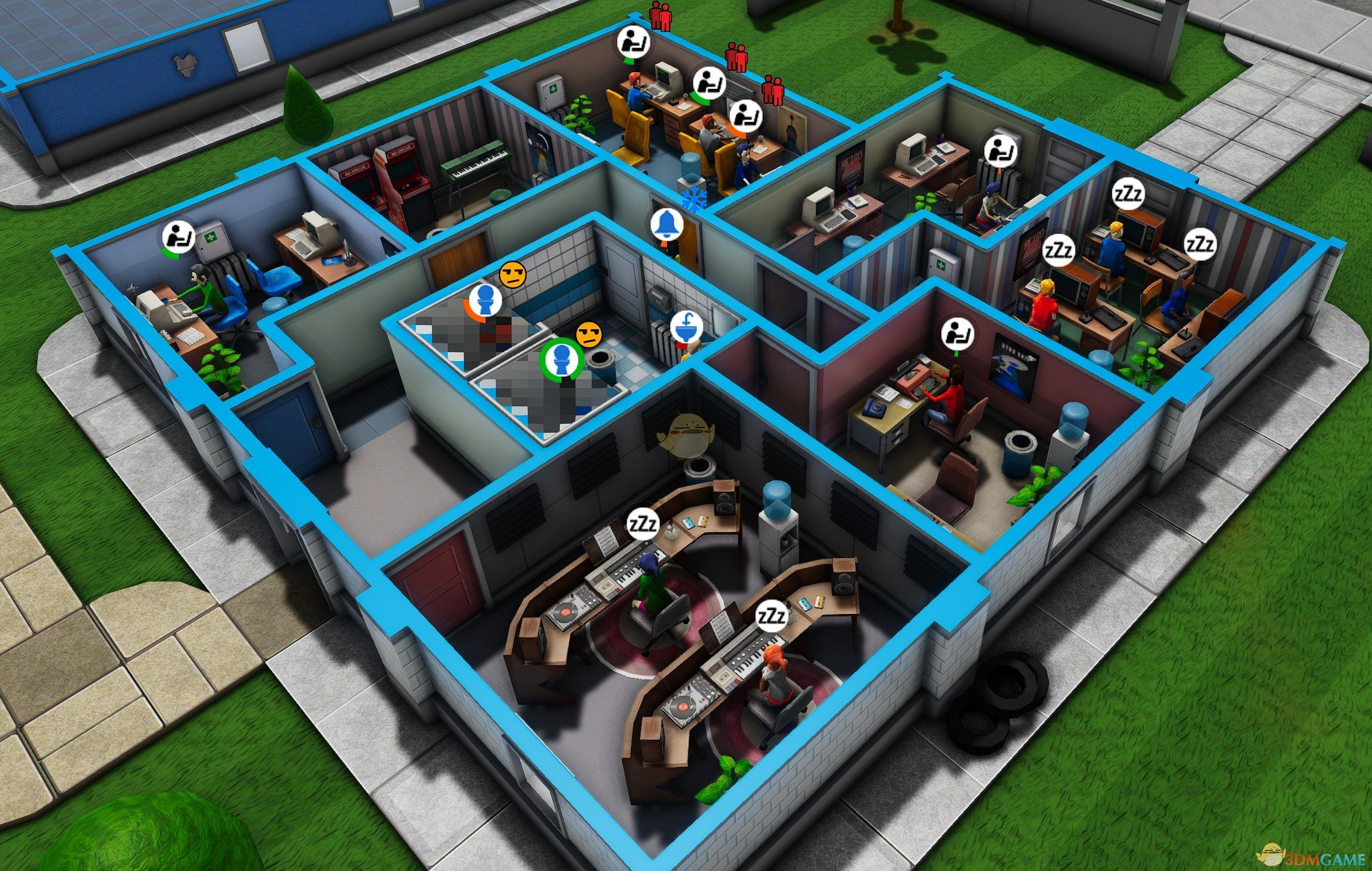 《疯狂游戏大亨2》开局好用房子布局一览