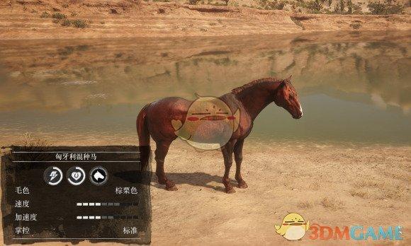 《荒野大镖客2》匈牙利混种马数据一览