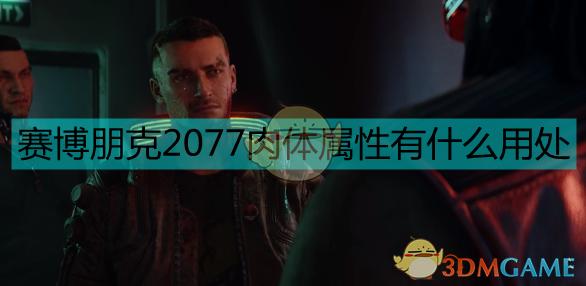 《赛博朋克2077》肉体属性作用分析