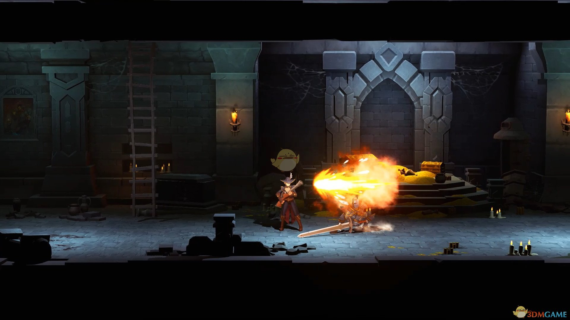 《靈魂之火》自由亂斗和團隊占點模式玩法介紹