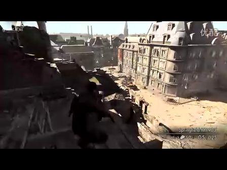 狙击精英v2 最高难度视频攻略 第一章