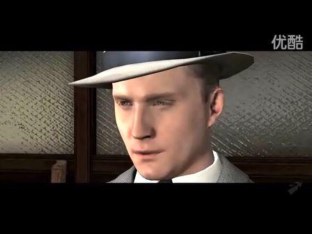 《黑色洛城(L.A. Noire)》首段游戏预告片公布