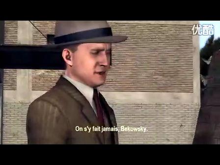 《黑色洛城》最新游戏预告片2
