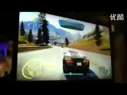 极品飞车14;热力追踪兰博基尼游戏试玩