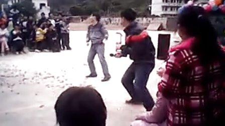 圩下中学2013年度元旦文艺汇演-----教师pk精彩对舞