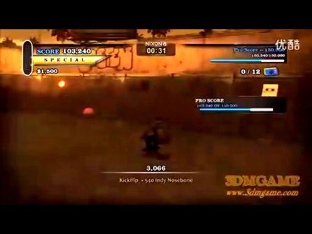 《托尼霍克滑板HD》主机版评测