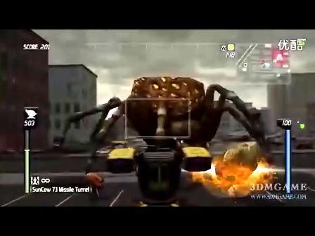 《地球防卫军:决战昆虫》主机版评测视频