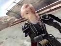 3DMGAME《最终幻想13:雷霆归来》奶挺姐武士服展示