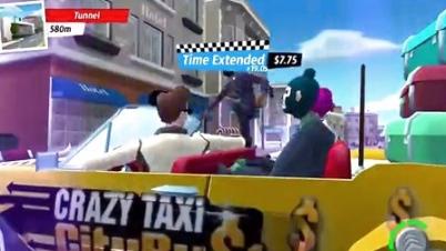 《疯狂出租车:都市狂奔》游戏演示