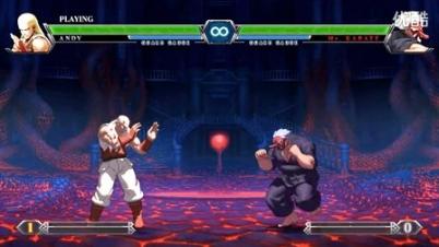 拳皇13 KOFXIII 高评分人物最简单安全跳展示