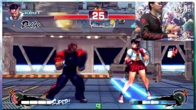 《终极街霸4》Sakura部分