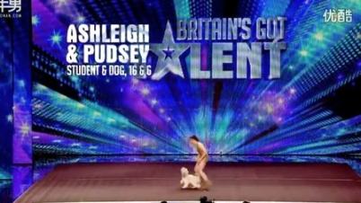 英国达人秀16岁少女与明星狗共舞惊爆全场