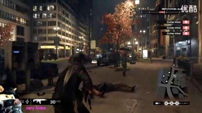 PS4《看门狗》最新演示