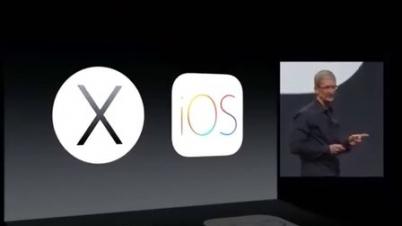 苹果2014发布会全程视频 iOS 8、新OS X及编程语言Swift亮