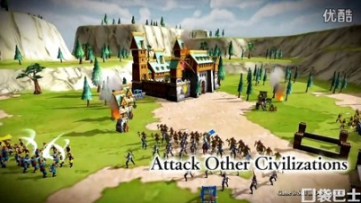 即时性战略手游《帝国时代:统治世界》 预告片