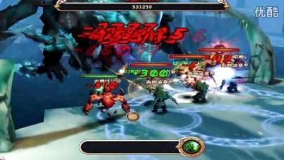 《暗黑3-天神传》副本战斗视频