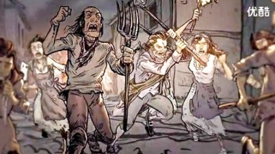 《刺客信条:大革命》丧尸风格预告片