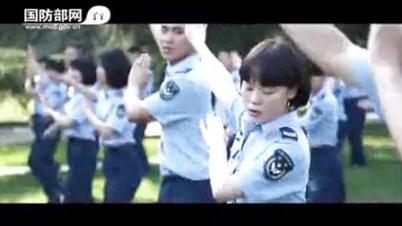 国防部发布征兵宣传片 军营版《小苹果》