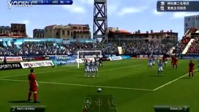 FIFA14 C罗 任意球 第二季