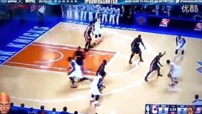 3DMGAME《NBA 2K15》迈阿密热火VS纽约尼克斯演示