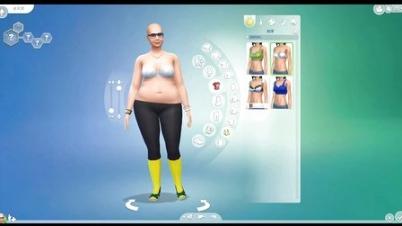 【中国BOY】模拟人生4 我是一个胖胖哒全民公敌