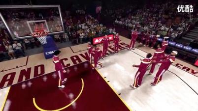"《NBA 2K15》最新预告片""The Land"""