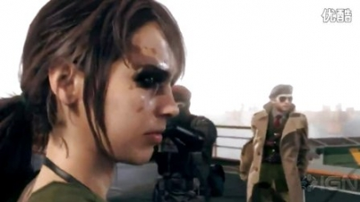 《合金装备5:幻痛》TGS预告 蛇叔邂逅性感女狙击手