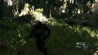 《合金装备5:幻痛》英文版游戏视频演示
