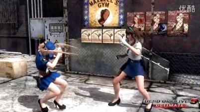 制服诱惑 《死或生5终极版》警察服装DLC视频
