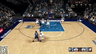 【NBA2K15】MC生涯模式,NBA首秀两双(12分10助攻)——