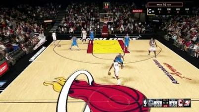 【NBA2K15】MC生涯模式,第一个十天合同最后一场(球队三