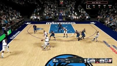 【NBA2K15】MC生涯模式,第二个十天合同第二场(单节