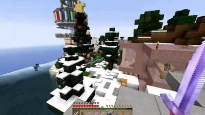 我的世界★Minecraft★1.8鬼鬼领域服24——圣诞快乐!五歌给大家送苹果6啦!