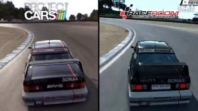 《赛车计划》对比《竞速空间R.E.》视频