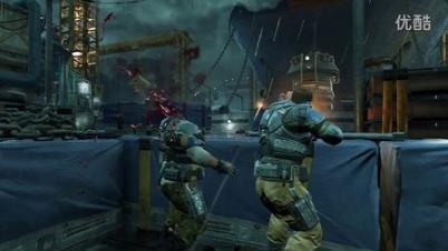 3DMGAME 《战争机器4》多人对战血腥宣传片