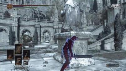 作弊玩家在《黑暗之魂3》变身空中战斗机