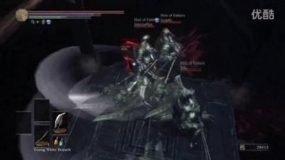 《黑暗之魂3》新流派:斧头帮四人组