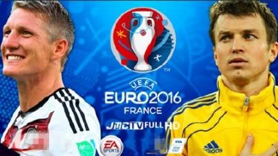 激情欧洲杯!实况足球2016德国vs乌克兰赛前预演pes2016