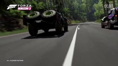 《极限竞速:地平线3》E3 2016官方预告片