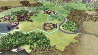 《文明6》E3闭门展中文字幕版本演示影片