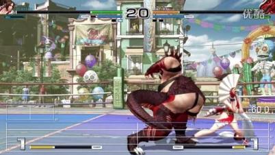 PS4《拳皇14》Demo帧率测试