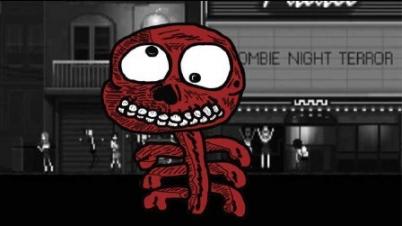 恐怖僵尸之夜Zombie Night Terror试玩讲解实况(丧尸崛起