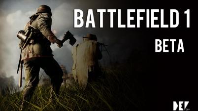 【DEV】战地1 Battlefield 1 Beta