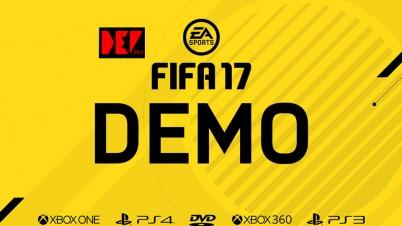 【DEV】FIFA17 DEMO 试玩实况