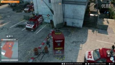 《看门狗2》实机试玩16分48秒 地图狂抄洛圣都