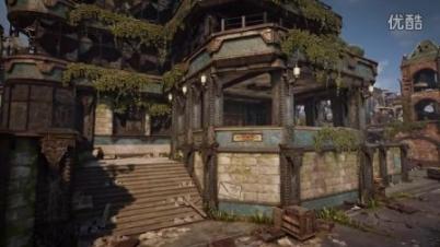 《战争机器4》多人游戏地图Gridlock视频