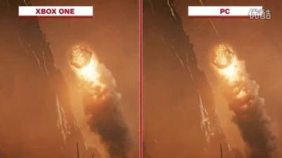 《战争机器4》PC/XB1画质对比