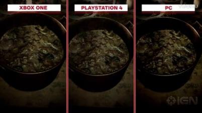 《生化危机7》三平台画面对比
